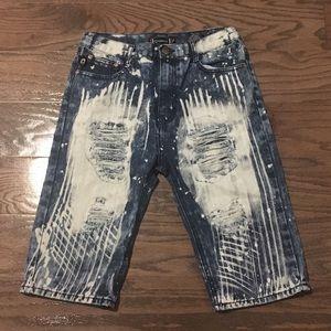 Jean shorts| Akademiks